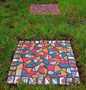 плиты для садовых дорожек