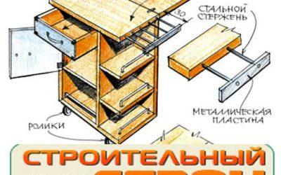 Передвижной столик для веранды