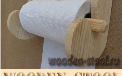 Держатель для бумажных полотенец своими руками