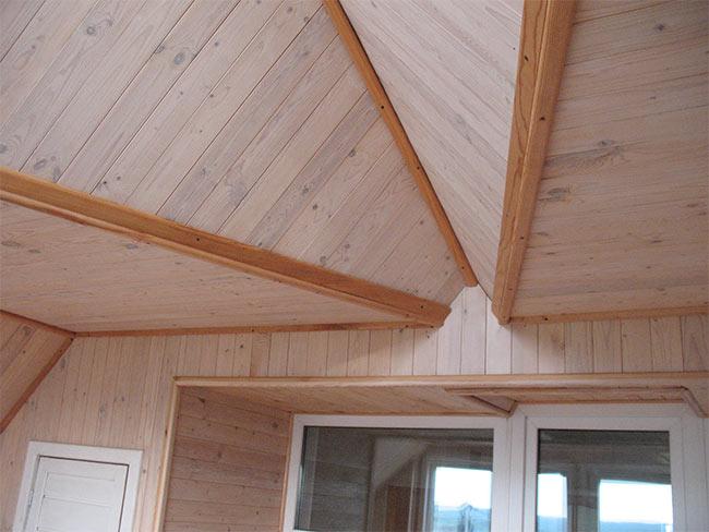 сложная форма потолка