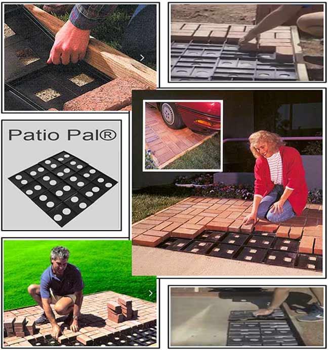 Quick Brick Patio