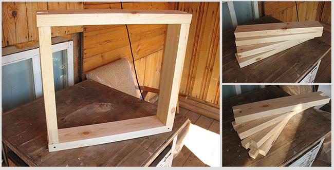 изготовление коробки окна